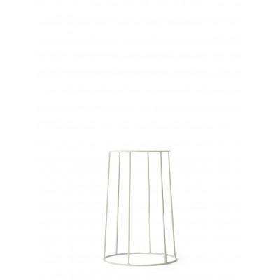 Pflanzenhalter Wire Base Medium | Weiß