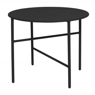 Beistelltisch Ø 50 cm   Schwarz