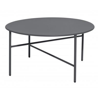 Beistelltisch Ø 70 cm   Rolle Grau