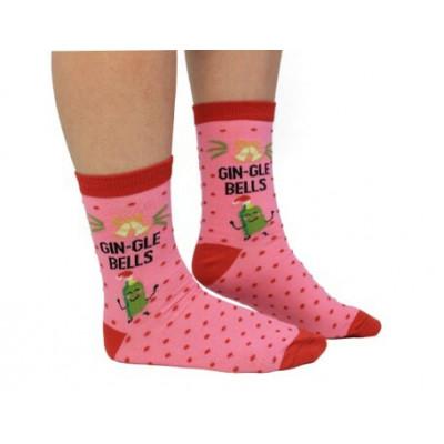 Socken Frauen Gin-Gle Bells