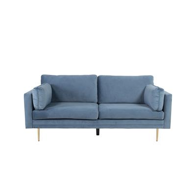 3 Seater Sofa Boom Velvet | Blue