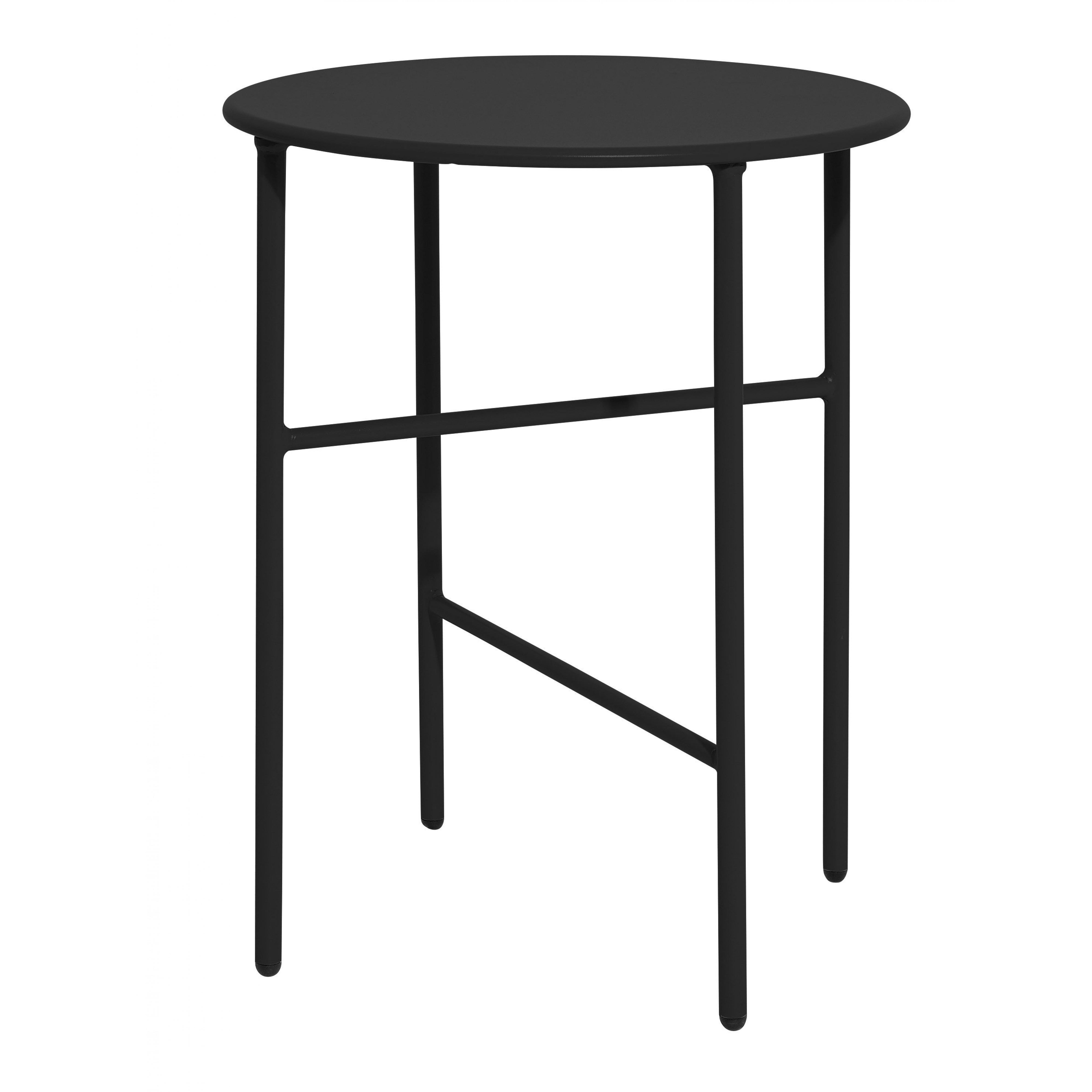 Side Table Ø 40 cm H 50 cm  | Black