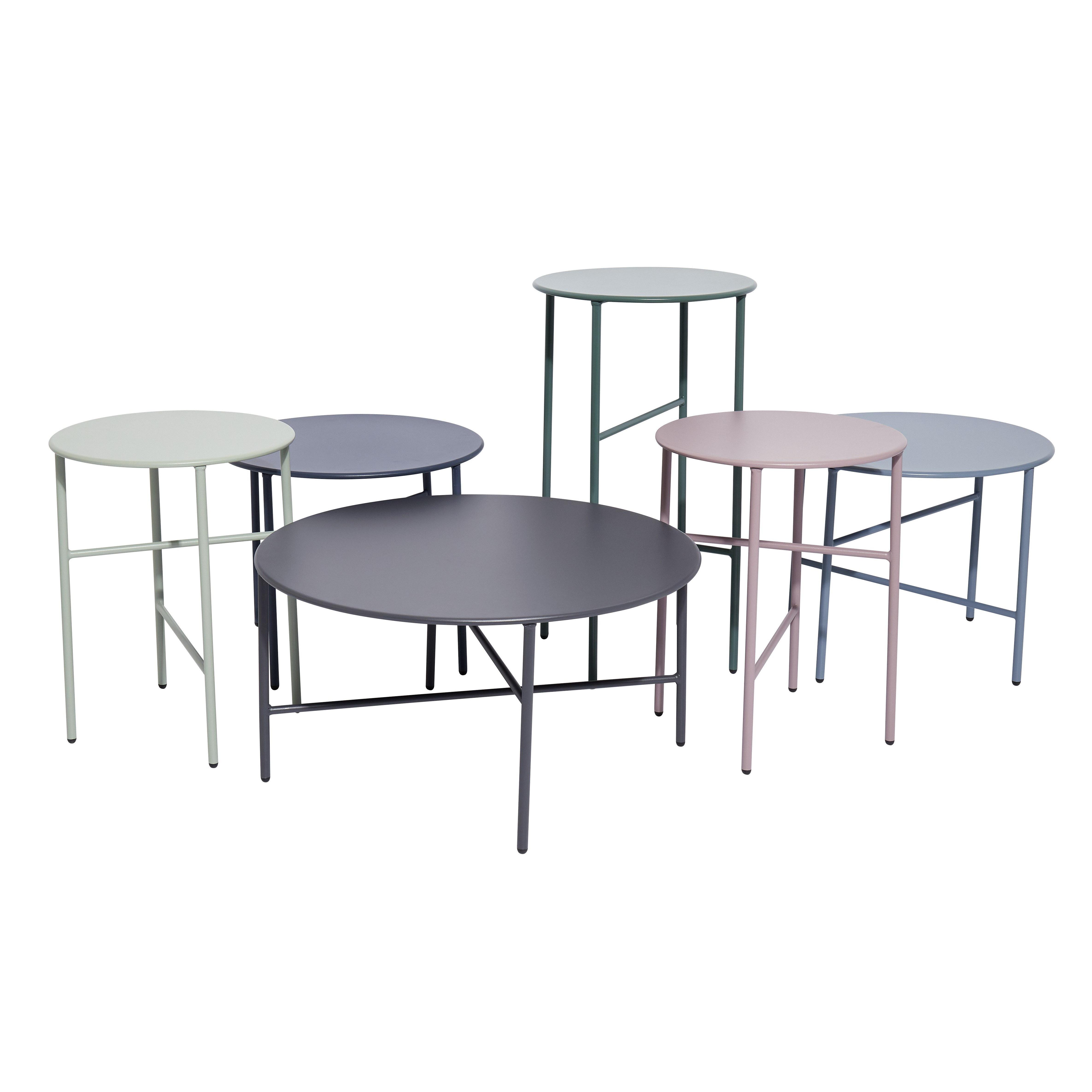 Side Table Ø 70 cm | Castor Grey