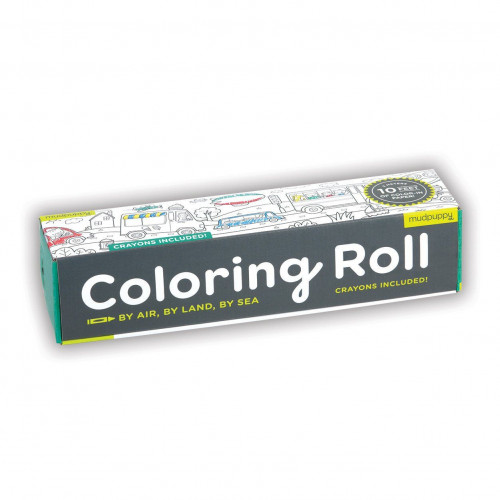 Colouring Roll   By Air By Land By Sea