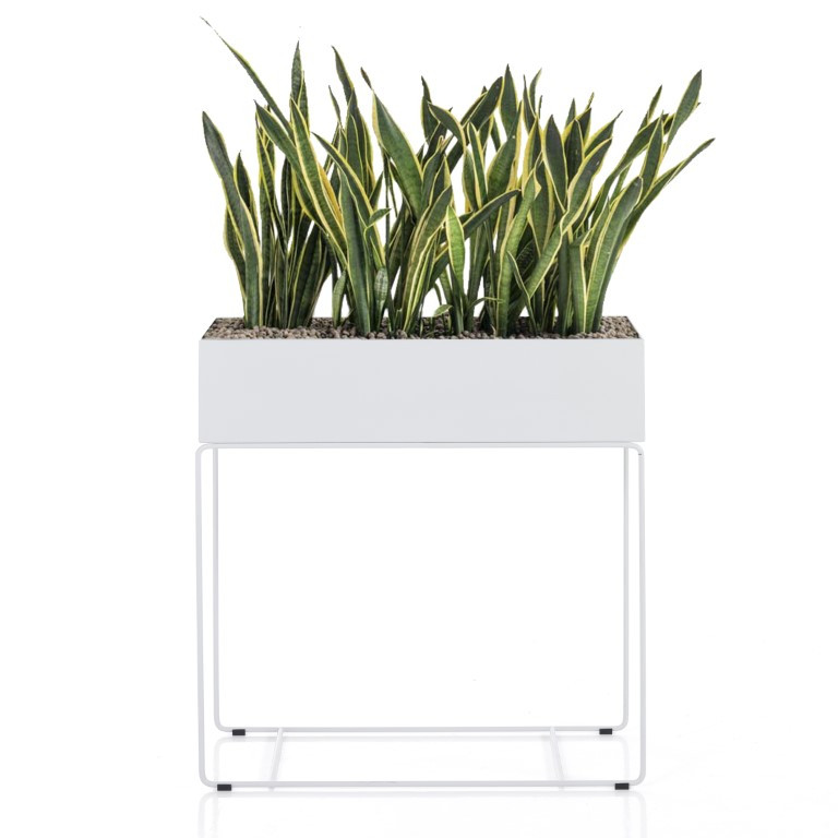 Planter Indoor/Outdoor Agnes Tall | White