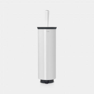 Toilettenbürste & Halter Profile | Weiß