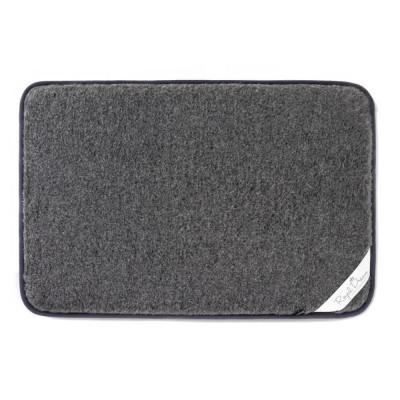 Tierteppich aus Wolle | Grau
