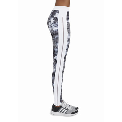 Sport Legging Code | Grau & Weiß