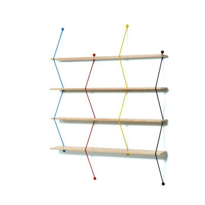Climb Shelving System | Coloured Threads