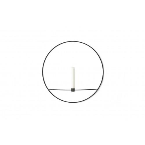 Kerzenständer POV Großer Kreis   Schwarz