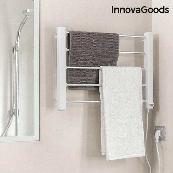 Electric Towel Rail | 5 Bars | White