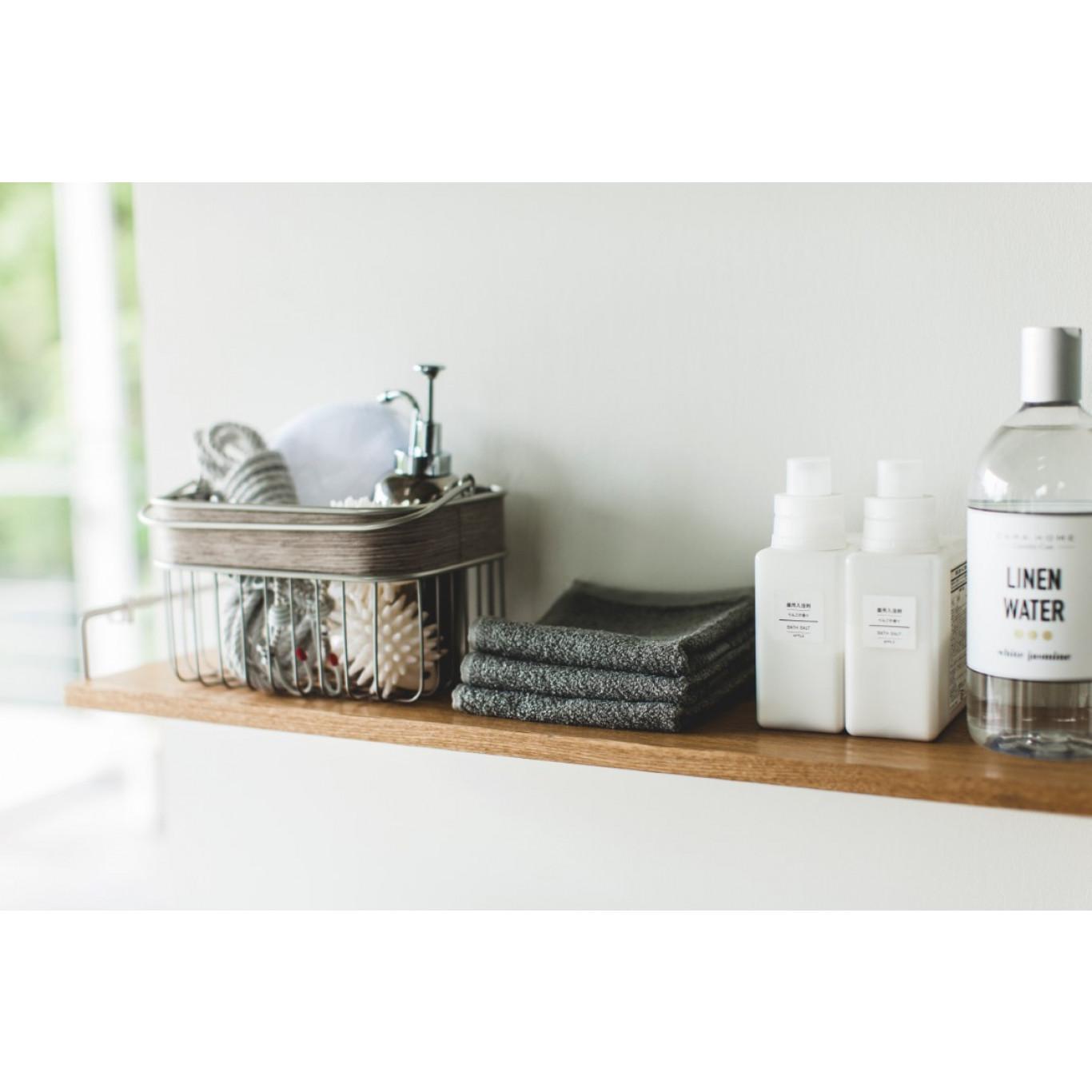 Wall Mounted Shelf Tower | White