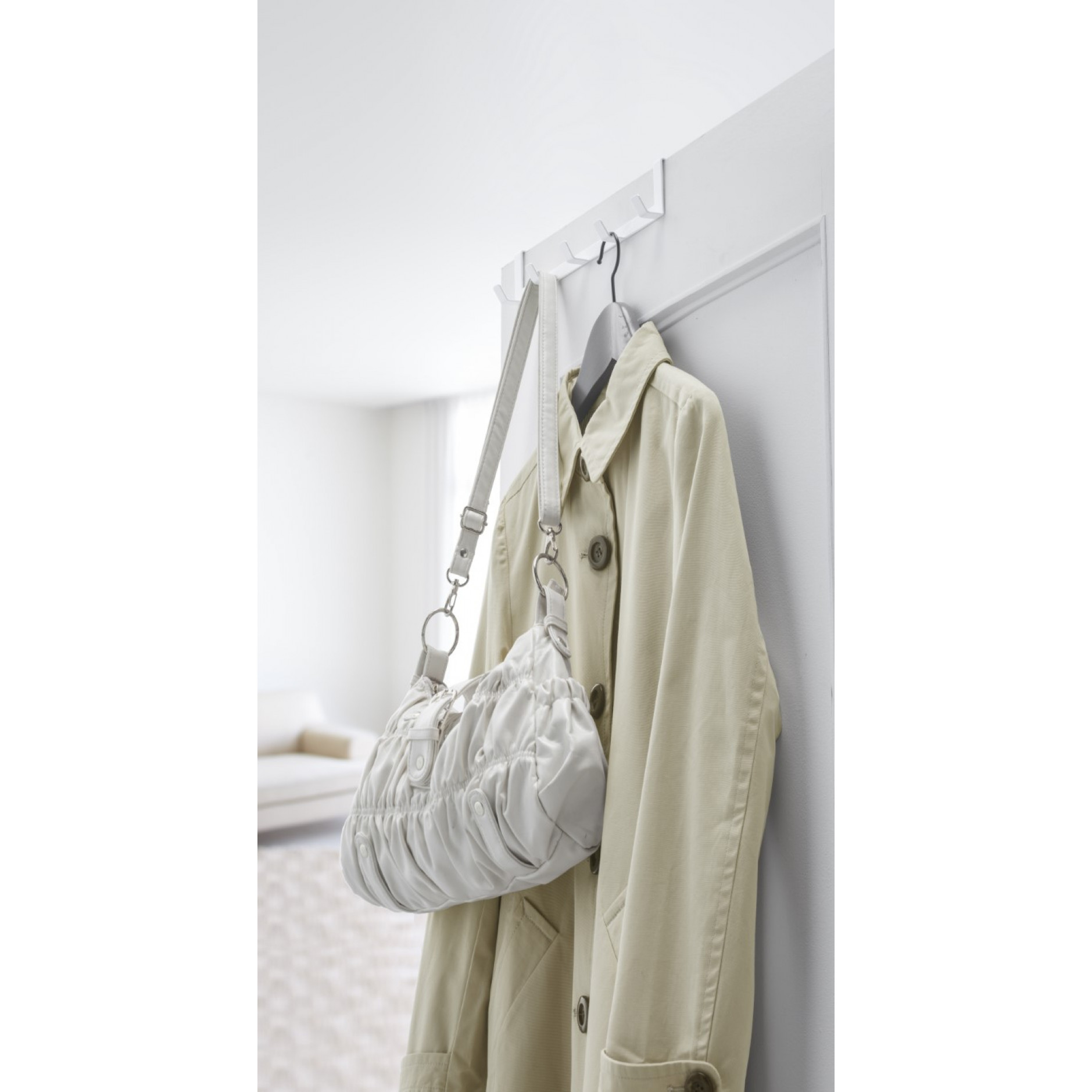 Über der Tür Ablage Smart Wide | Weiß