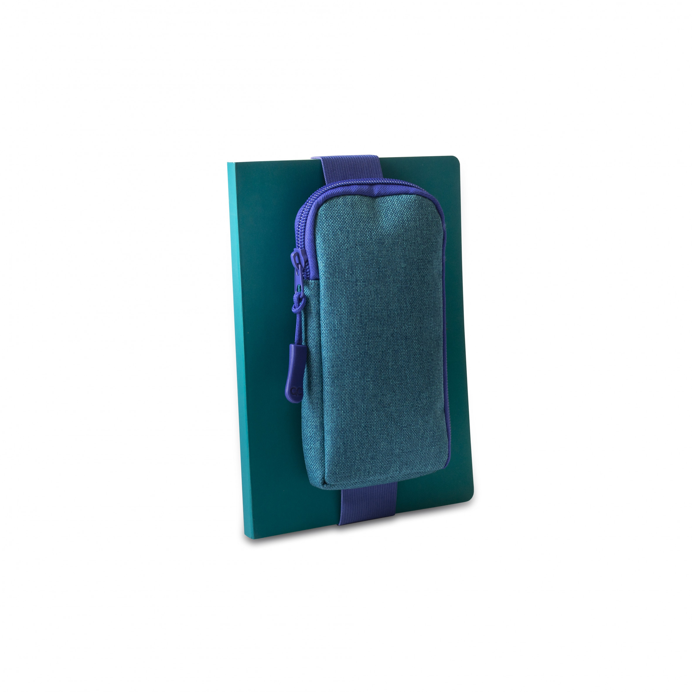 Notebooktasche mit Gummizug | Blau