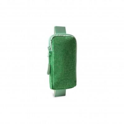 Notebooktasche mit Gummizug | Grün