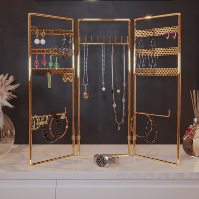Juwelenständer   Gold