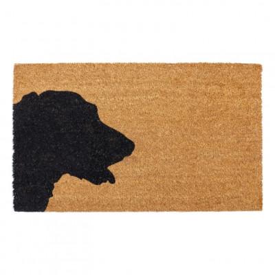 Outdoor-Fußmatte Hund | Braun