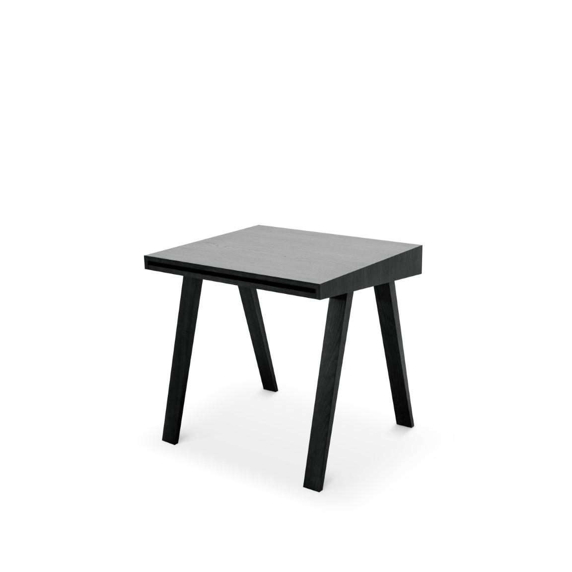 Schreibtisch 4.9 mit 1 Schublade | Schwarz