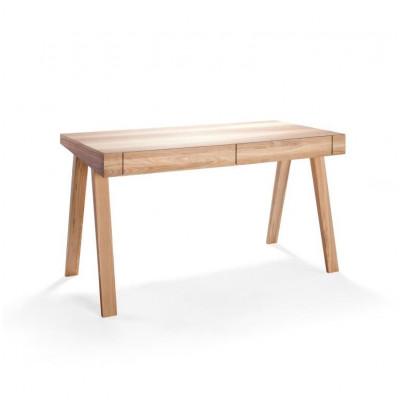 Schreibtisch 4.9 mit 2 Schubladen | Esche