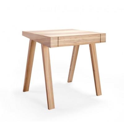 Schreibtisch 4.9 mit 1 Schublade | Esche