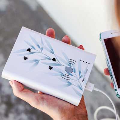 Multiplug Powerstation Wireless Small | Floral