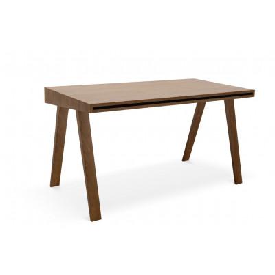 Schreibtisch 4.9 mit 2 Schubladen | Braun