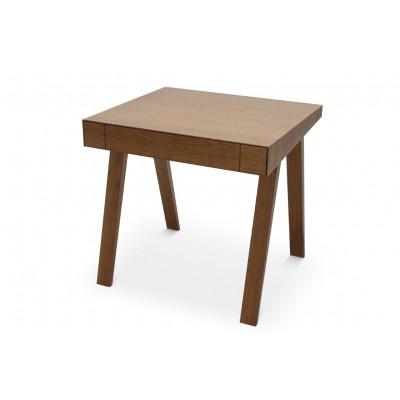 Schreibtisch 4.9 mit 1 Schublade | Braun