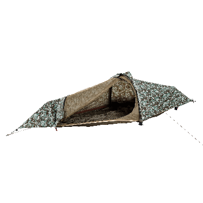 Flying Tent, Hammock & Poncho   Camouflage Brown