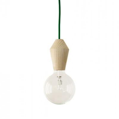 Männliche Lampe - grünes Kabel
