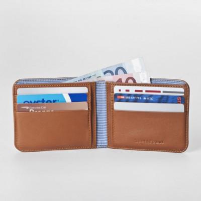 Classic Bifold Men's Wallet | Caramel