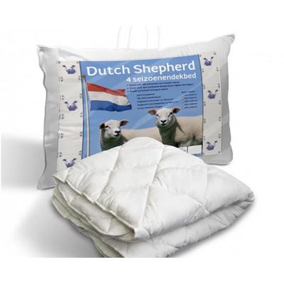 Wolldecke Holländischer Schäferhund 4 Jahreszeiten