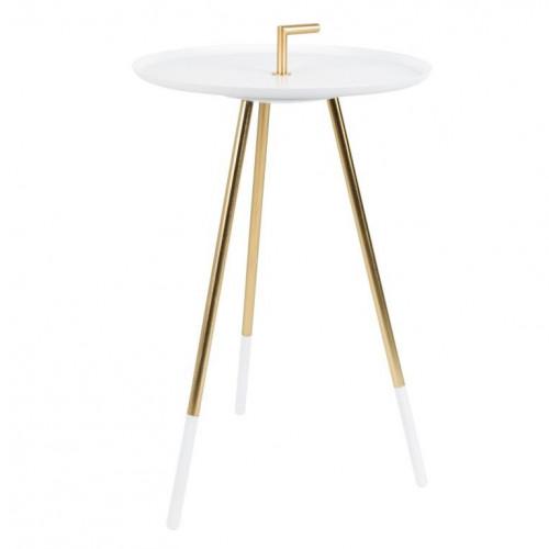 Side Table Rumbi   White