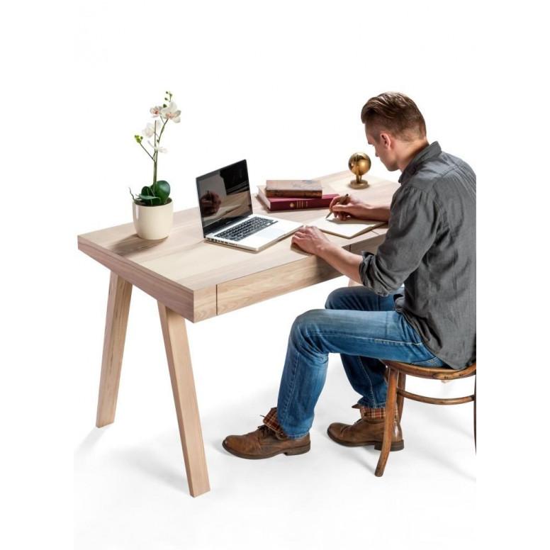 Desk 4.9 Lithuanian Ash | 2 Drawers