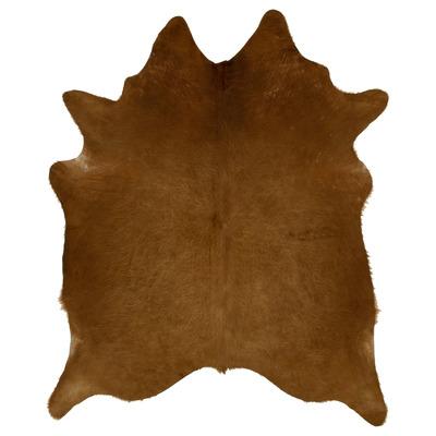 Woooly® Einzigartig Kuhhaut    Dunkelbraun und Hellbraun