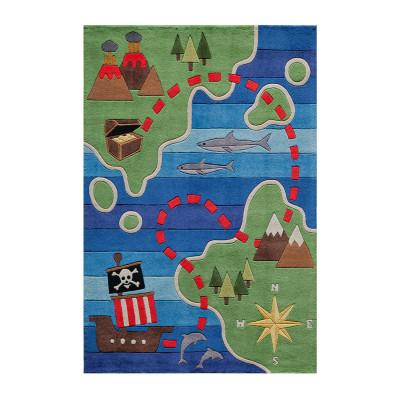 Teppich   Treasure Map