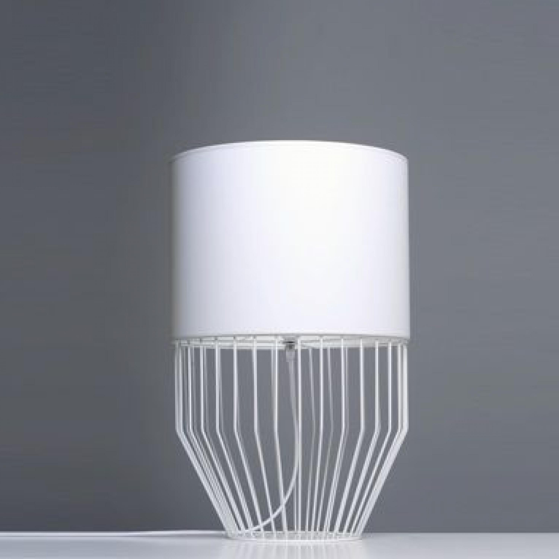 Tischlampe Raio   Weiß