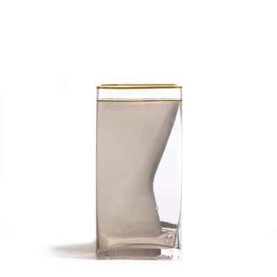 Vase Two of Spades 15x15x30 cm | Multicolour