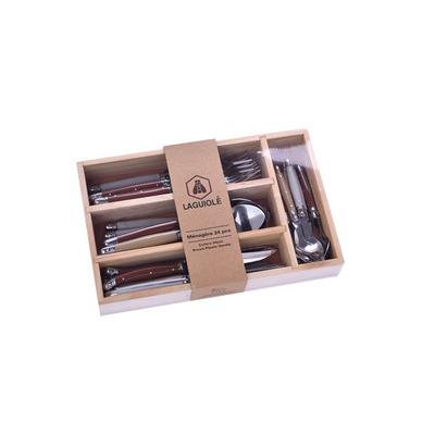 24 Pieces Cutlery Set | Silver