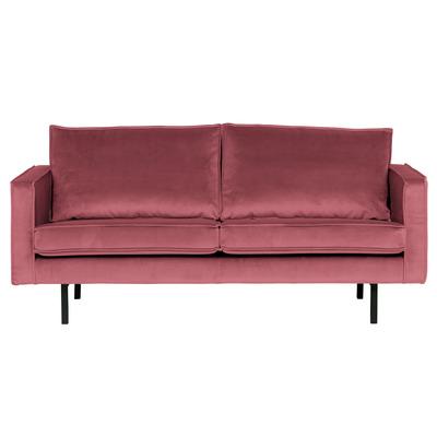 2,5 Seater Sofa Rodeo Velvet | Pink