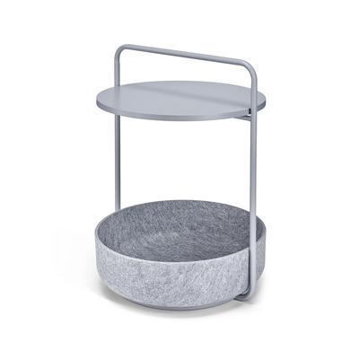Side Table Tavolino I Concrete Grey