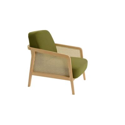 Vienna Armchair | Natural/Green