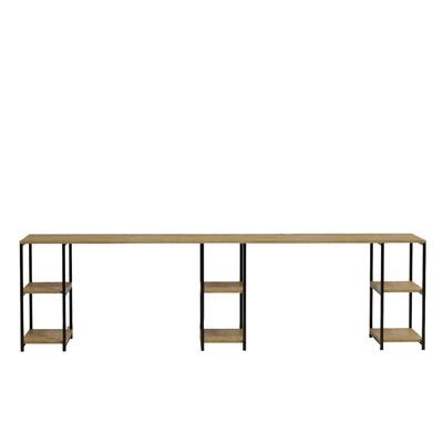 Schreibtisch in schlichtem Design L204 l Eiche