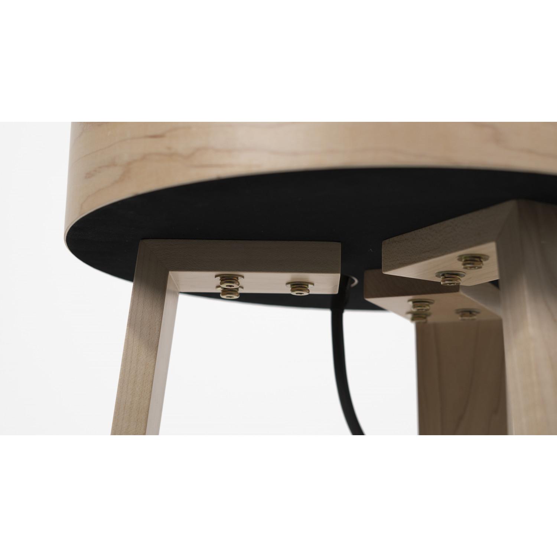 Side Table Trellis | Maple