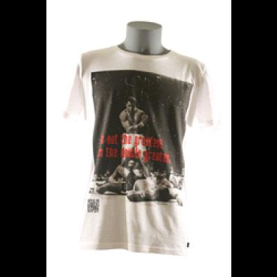 Ali T-Shirt Men Round- White