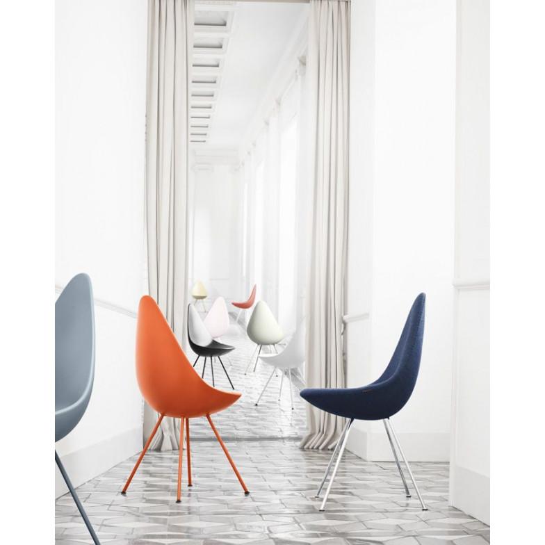 Liegestuhl   Kunststoffschale weiß