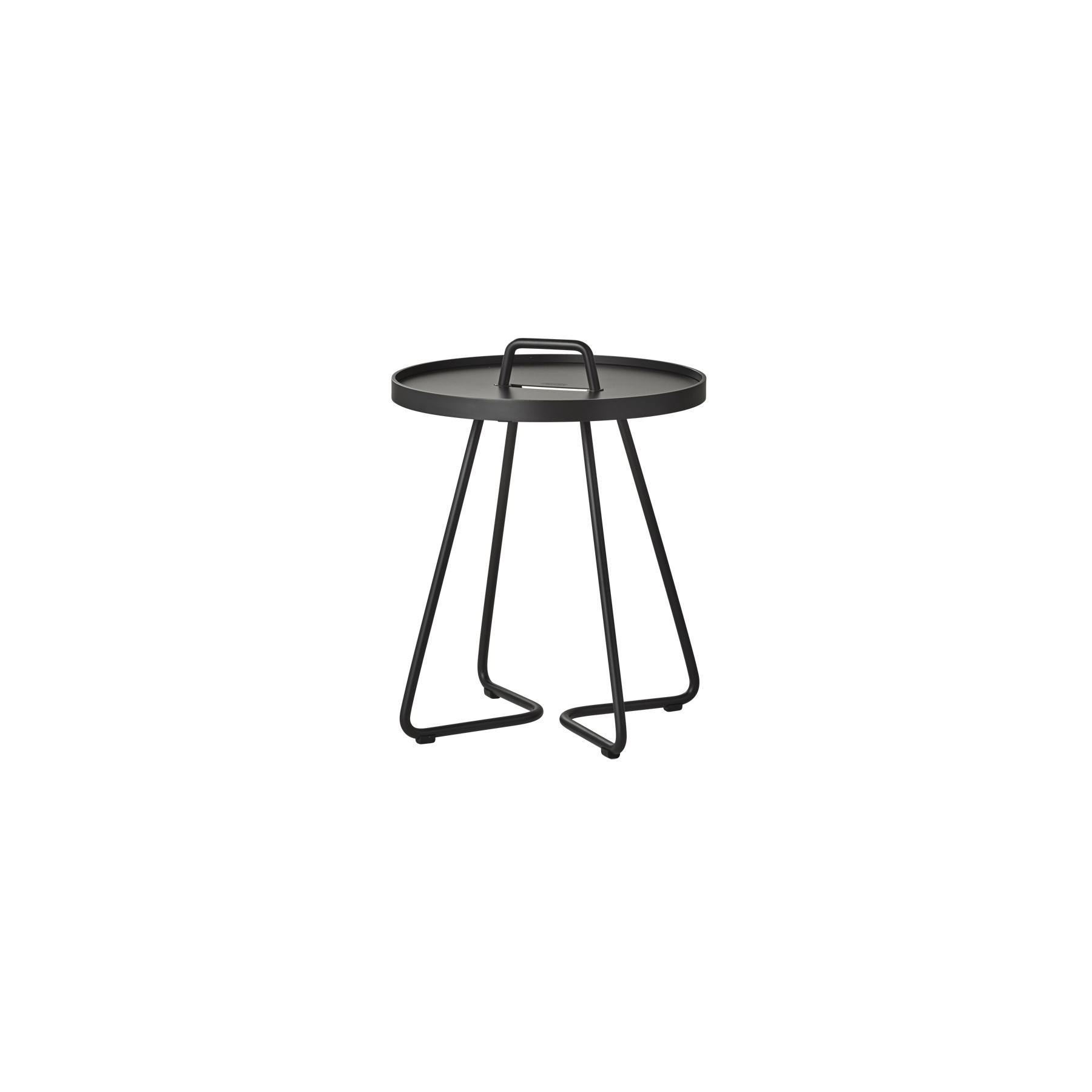 Side Table On-The-Move   Black