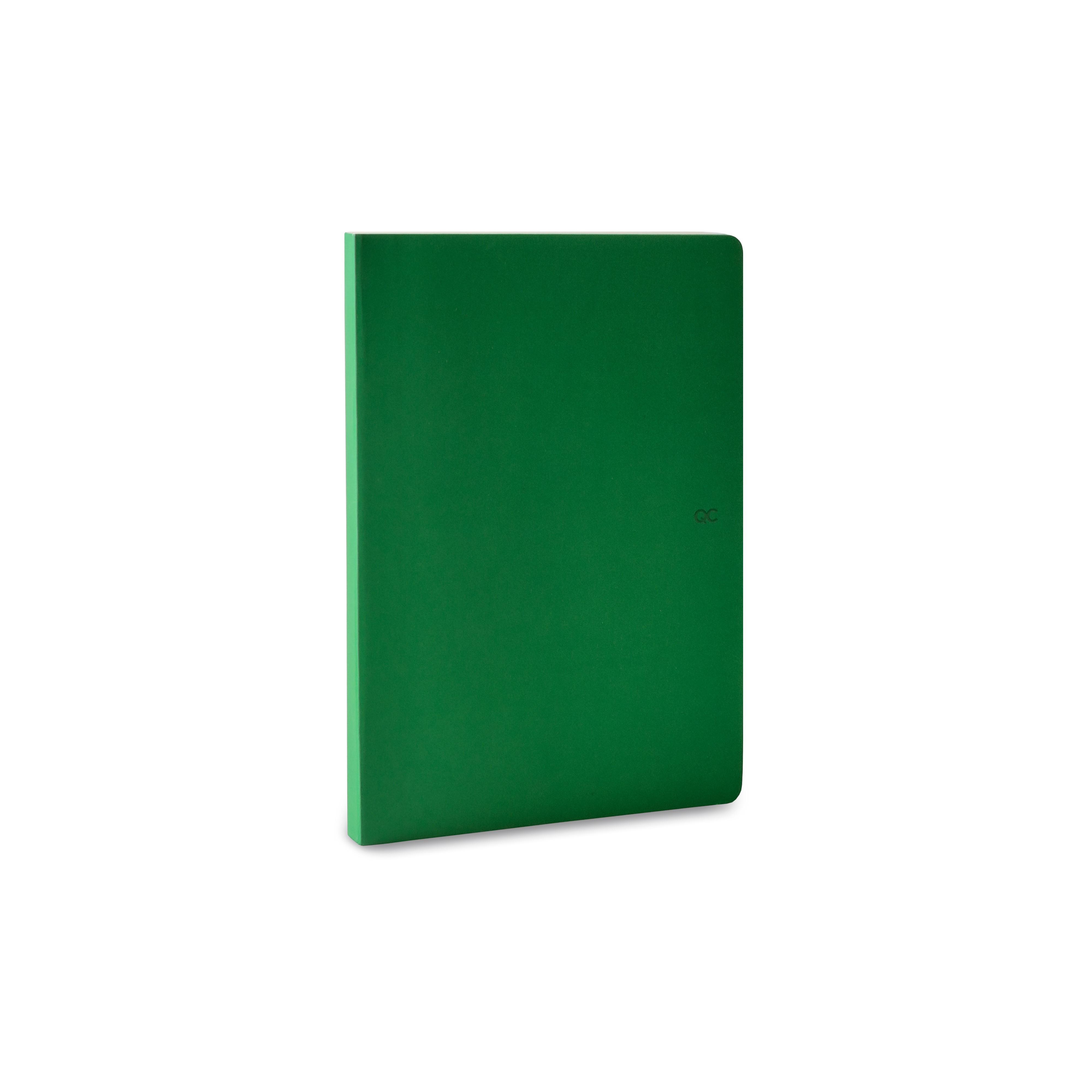 Notizbuch A5 | 88 Blätter | Grün