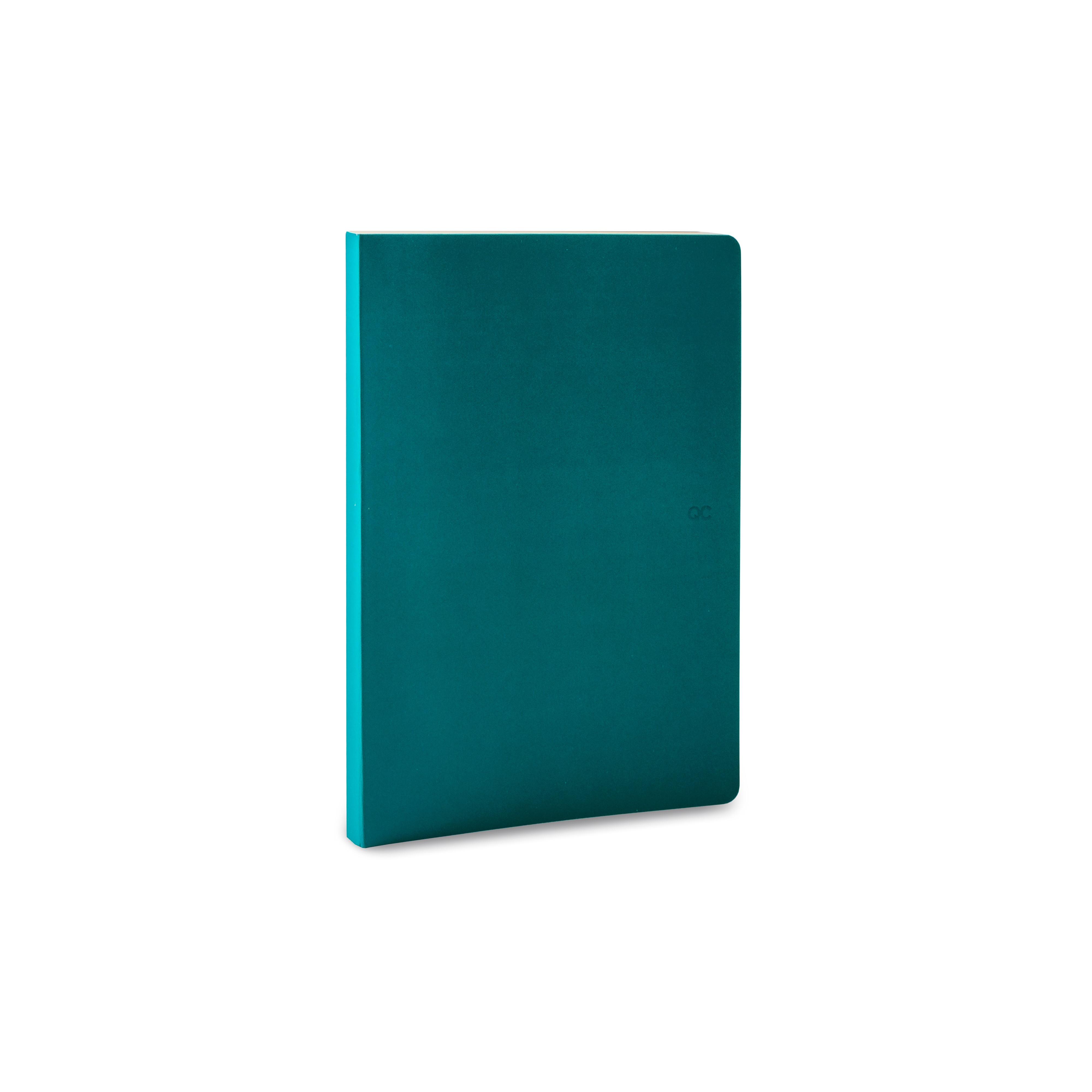 Notizbuch A5 | 88 Blätter | Blau