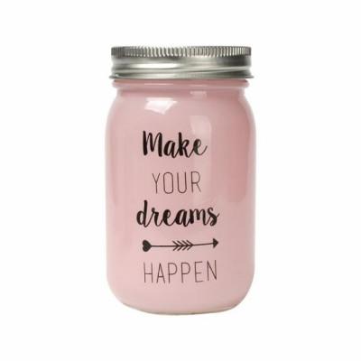 Glass Jar | Make your Dreams Happen