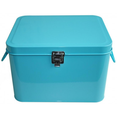 Sewing Box | Light Turquoise